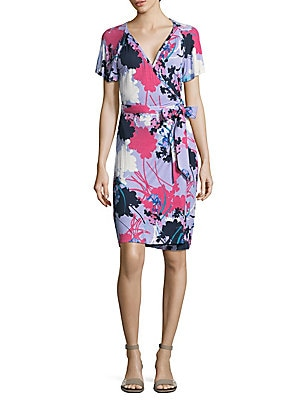 Eve Floral Wrap Dress