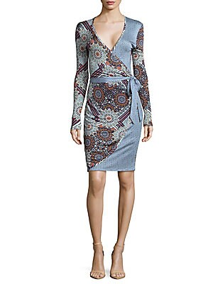 Bessa Floral Wrap Dress