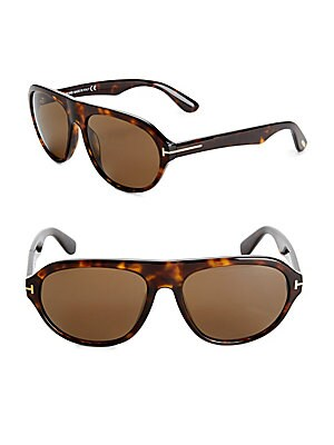 58MM Oval Sunglasses