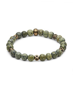 Serpentine Beaded Bracelet