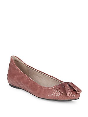 Pippa Leather Ballet Flats