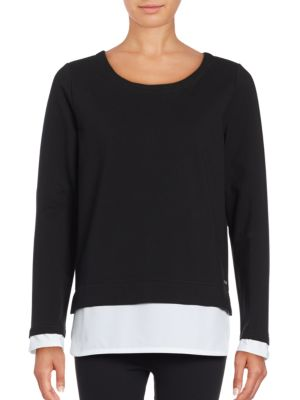 Mock Layer Pullover