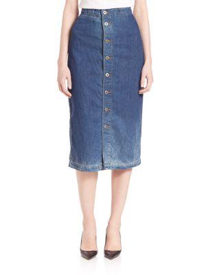 Thea Calf Length Skirt