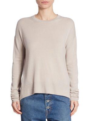 Boxy Cashmere Pullover