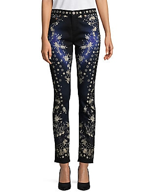 Flower and Star Pants