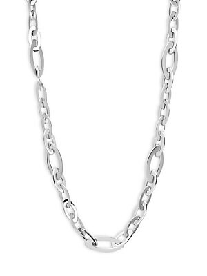 Click here for 18K White Gold Shiny Chain Necklace prices