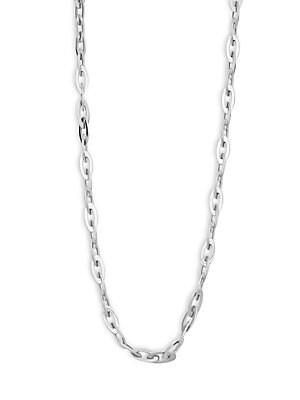 Click here for 18K White Gold Chic Shiny Chain Necklace prices