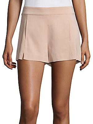 Adele Stretch Crepe Shorts