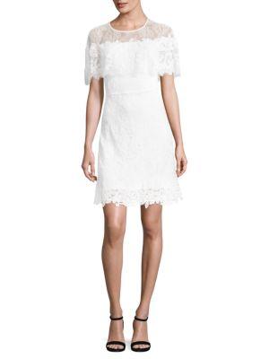 Vivi Lace Cape Dress