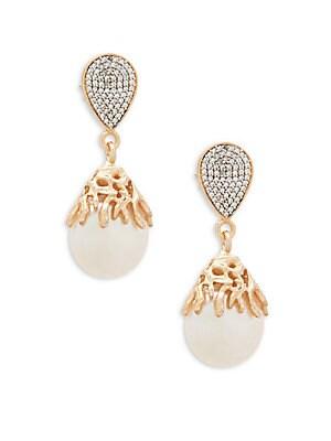 Ajoure Pearl Drop Earring