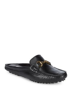 Leather Mule Driver Shoes