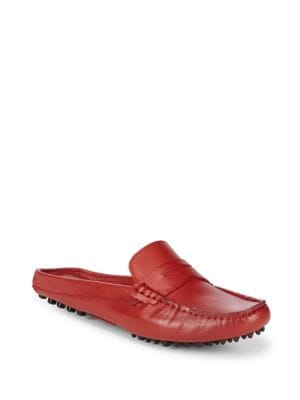 Mule Driver Leather Loafers