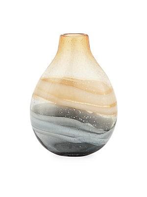 Andrea Short Swirl Vase