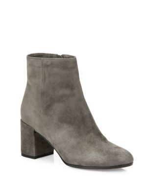 BLAKELY SUEDE BLOCK HEEL BOOTIES