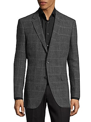 Windowpane Blazer