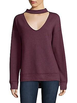 Sofie Choker Neck Sweater