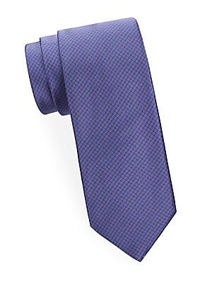 Dot in Mini Circle Silk Tie
