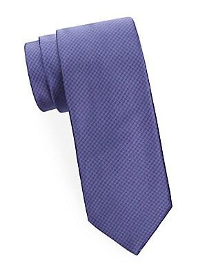 Dot in Mini Circle Silk Tie