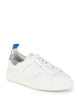 STARTER LEATHER LOW-TOP SNEAKERS