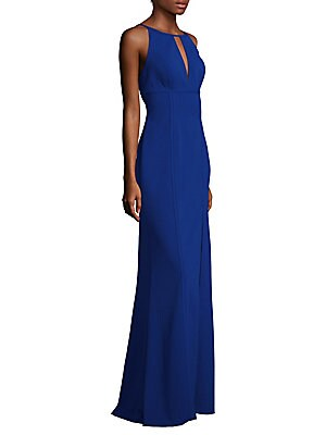 Keyhole Halter Gown