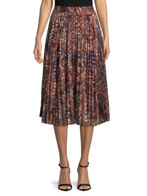 Paisley Midi Skirt