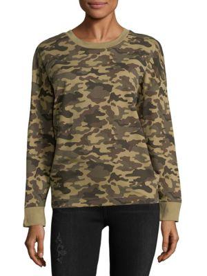Camo Cotton Sweatshirt