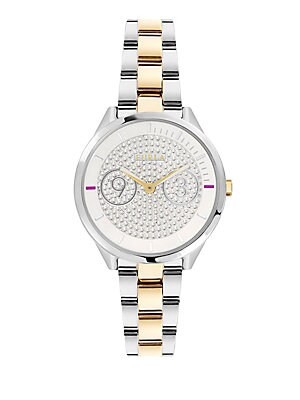 Metropolis Stainless Steel Bracelet Watch