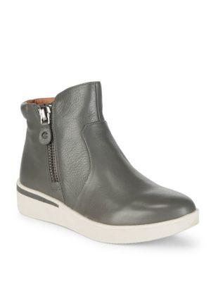 Harper Leather Booties