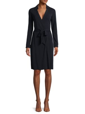 NEW JEANNE TWO JERSEY WRAP DRESS