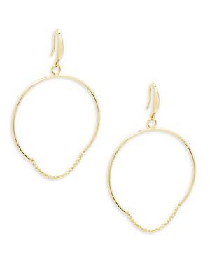 Round Chain Hoop Earrings