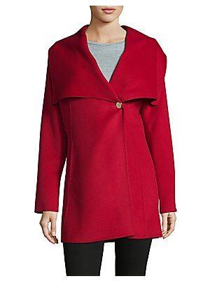 Cape Collar Mid Coat