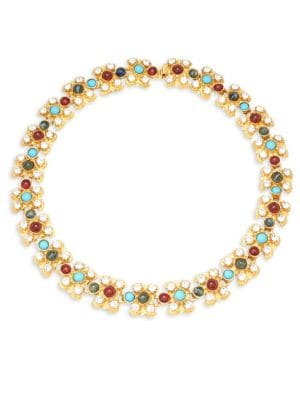 CRYSTAL MULTICOLORED NECKLACE