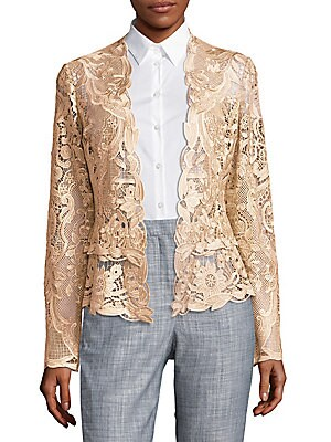Lace Open Jacket