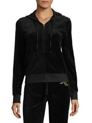 Graphic Velour Jacket