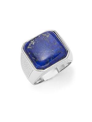 Lapis Lazuli & Sterling Silver Ring