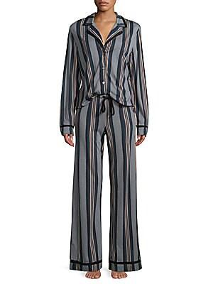 Amore Striped Pajamas