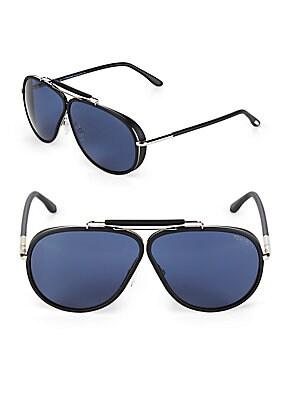 65MM Aviator Sunglasses