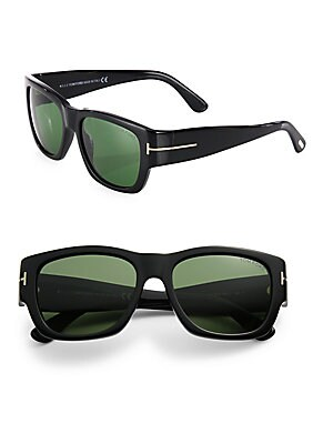 Stephen 54MM Soft Square Sunglasses