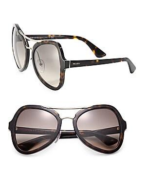 55MM Irregular Sunglasses