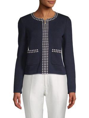 Studded Full Zip Jacket
