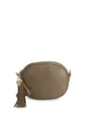 Cuore Leather Crossbody Pouch