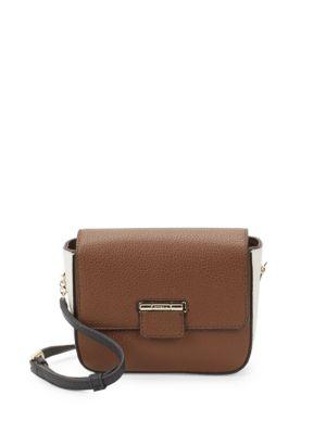 Artesia Flap Leather Mini Crossbody Bag