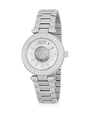 Lion Stainless Steel Bracelet Watch