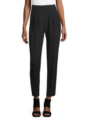Silk Pleat Pants