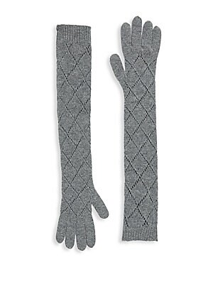 Lana Cashmere Agyle Gloves