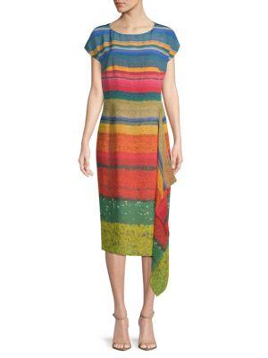 Multicolored Silk Dress