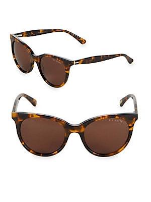 51MM Tortoise Cat Eye Sunglasses