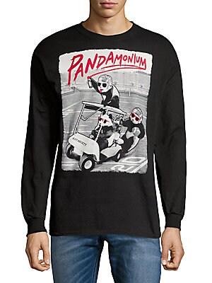 Graphic Cotton Crewneck Sweater
