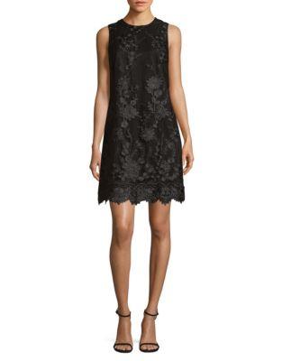 3D Floral Sheath Dress