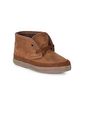 Boy's Leather Booties